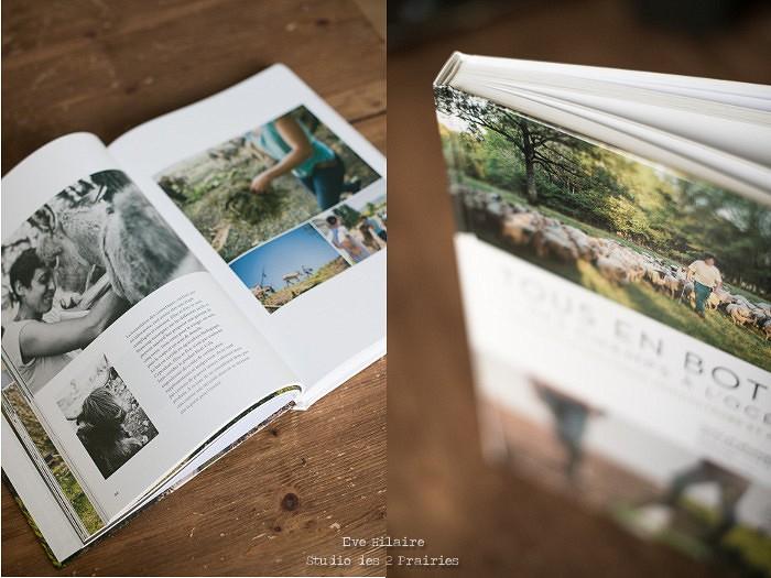 Tous en Bottes, le livre photo du Studio des 2 Prairies, sur l'agriculture et la pêche