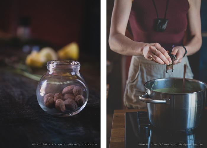 Photographie culinaire : recette de soupe