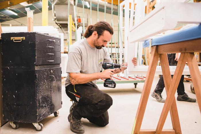 Photographes professionnelles en artisanat : reportage photo artisanat pour qualibat