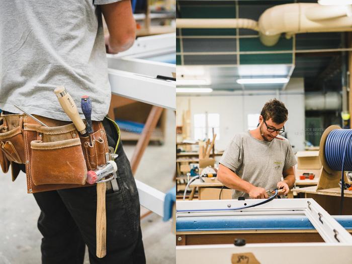 Photographes professionnelles en artisanat : reportage qualibat