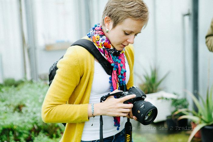 Formation photo en entreprise par le Studio des 2 Prairies